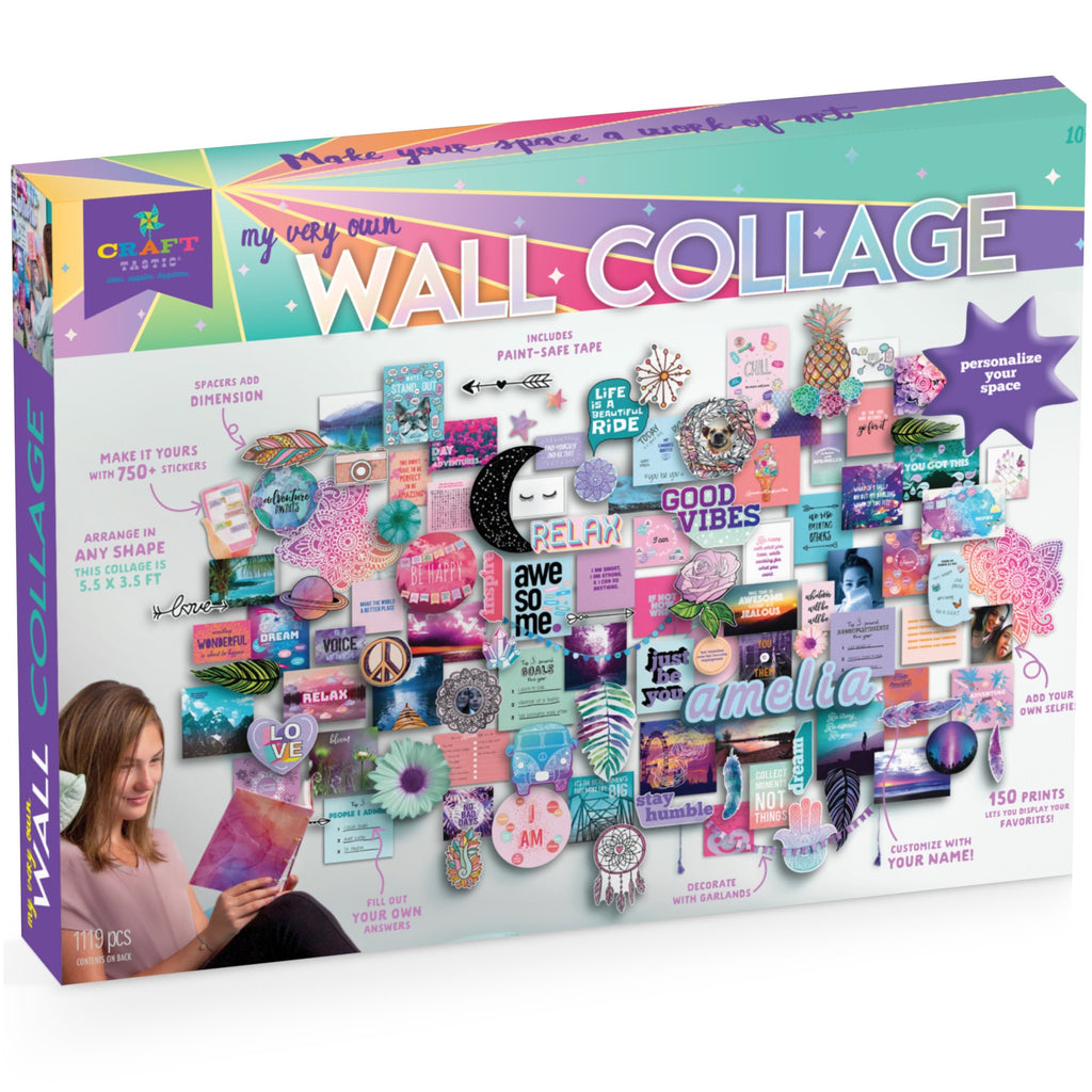 Craft-Tastic My Very Own Wall Collage Kit