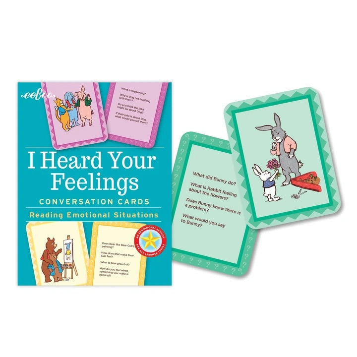I Heard Your Feelings - Conversation Cards