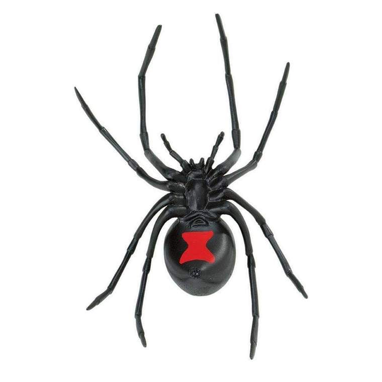 Black Widow Spider Figure