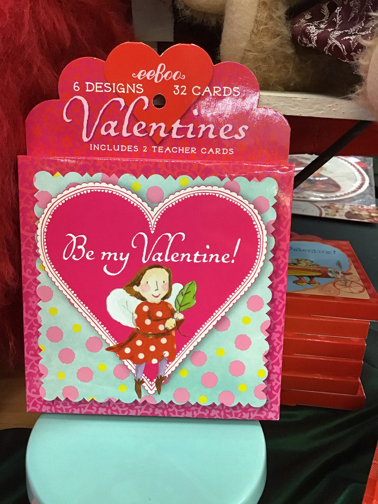 "Eeboo ""Be My Valentine!"" Valentines Day Cards"