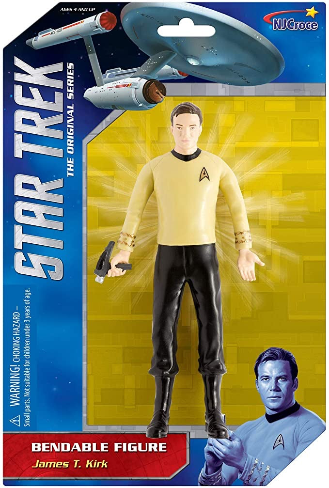 Kirk Bendable figure