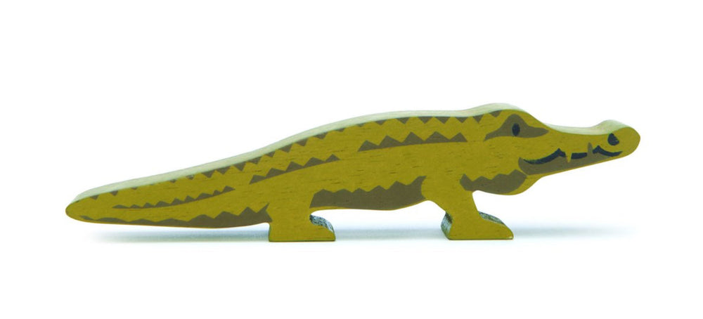 Tender Leaf Toys Safari Wooden Animals Crocodile