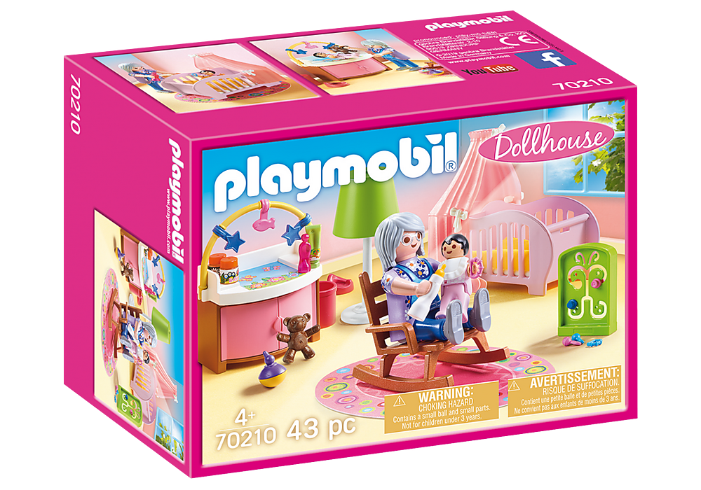 Playmobil Dollhouse 70210 Nursery
