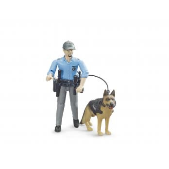 Policeman with Dog