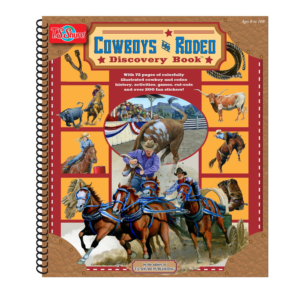 Cowboys and Rodeo Discovery Book
