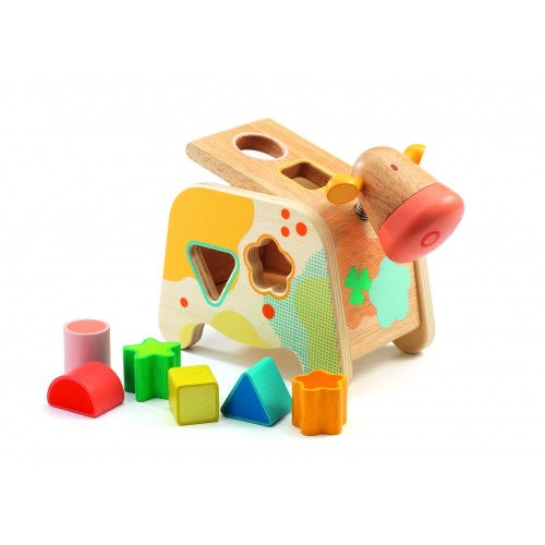 Cachatou Cow Shape Sorting Box