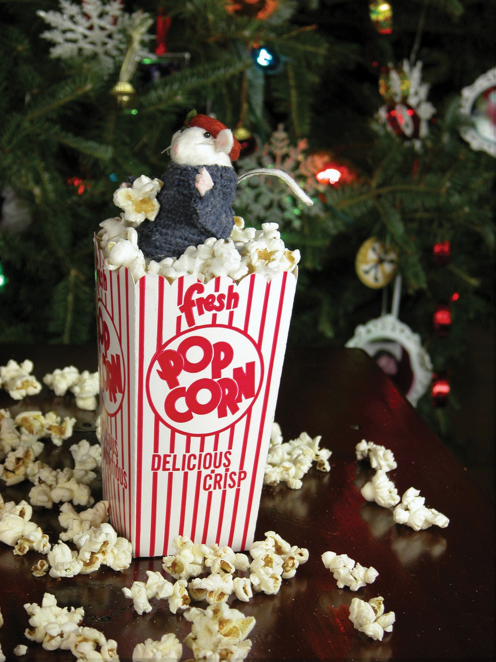 Mouse in Popcorn- bcmou4