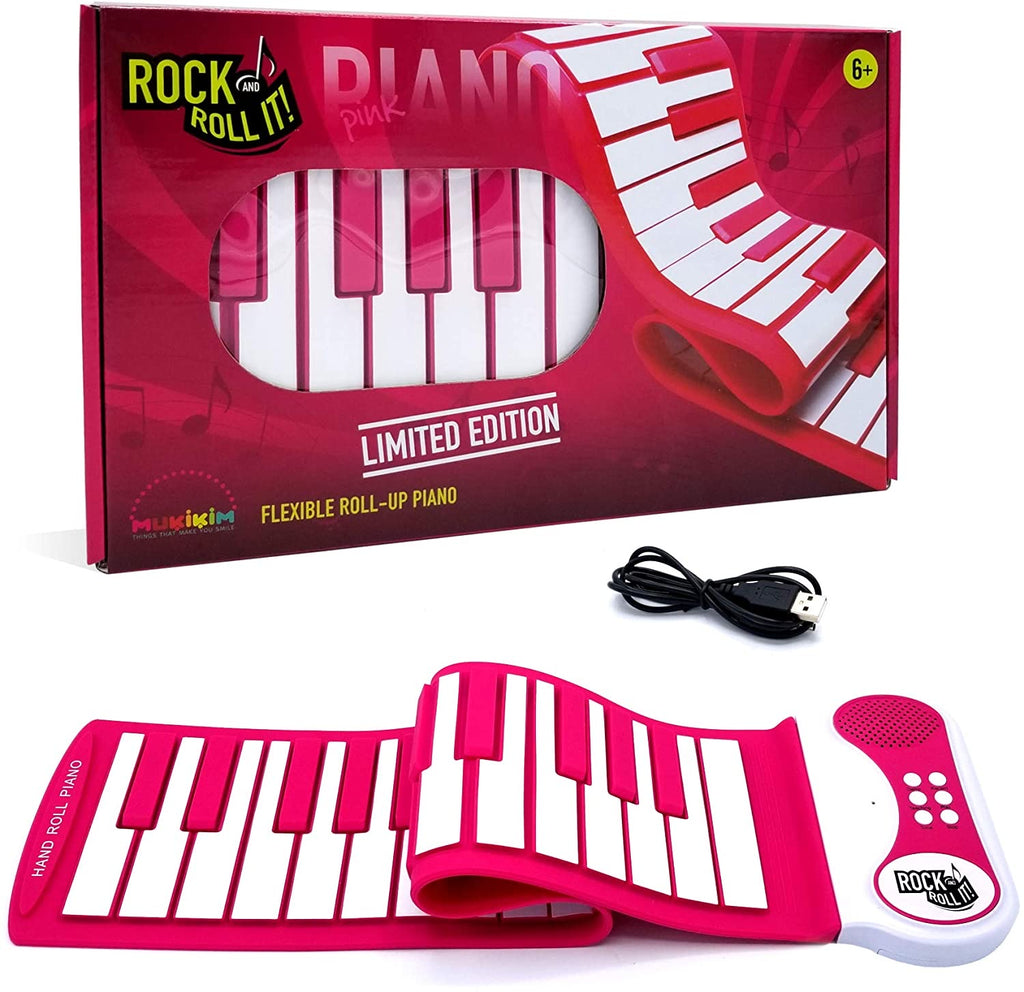 Pink Rock and Roll It Piano
