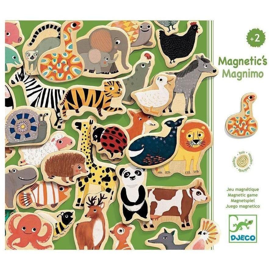 Wood Magnetic Game - Magnimo