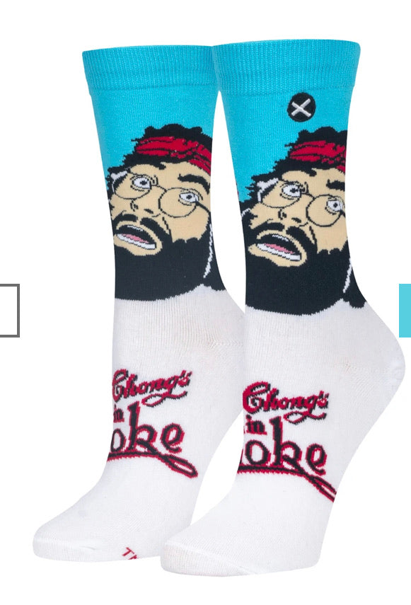 Up In Smoke Cheech and Chong Crew Socks