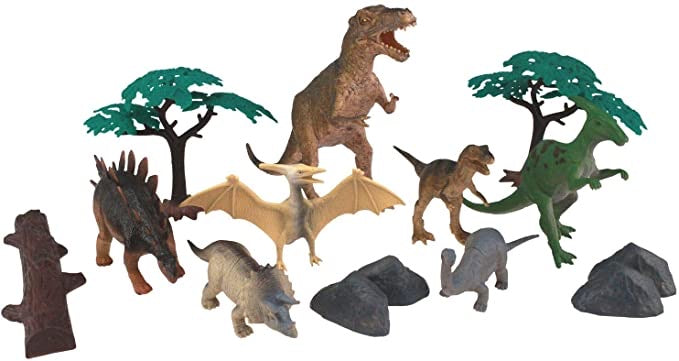 National Geographic 14 Piece Figurine Set