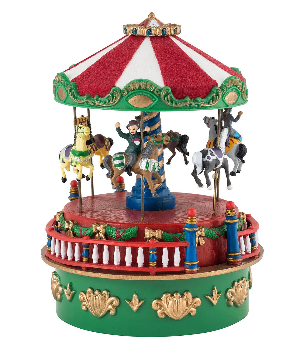 Wind Up Carousel Music Box