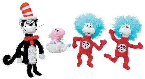 Manhattan Toy Co. The Cat in the Hat Finger Puppet Set