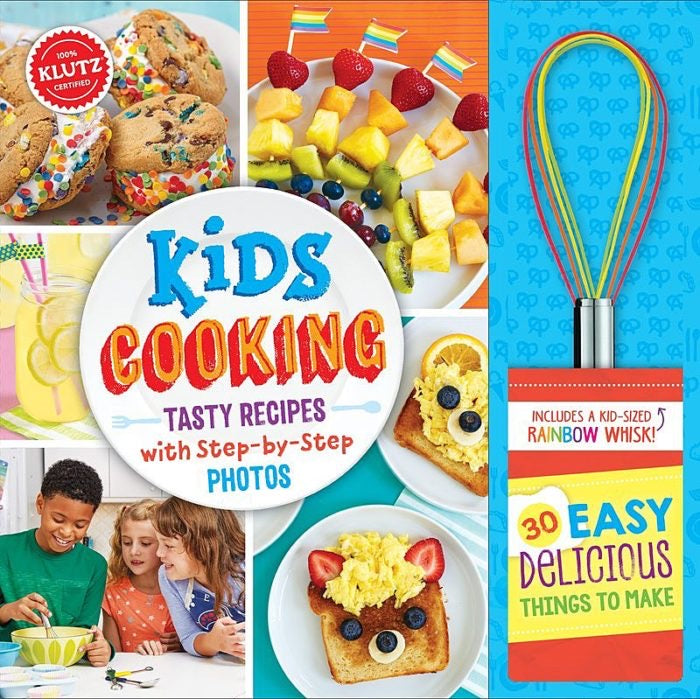 Kids Cooking Tasty Recipes Cookbook