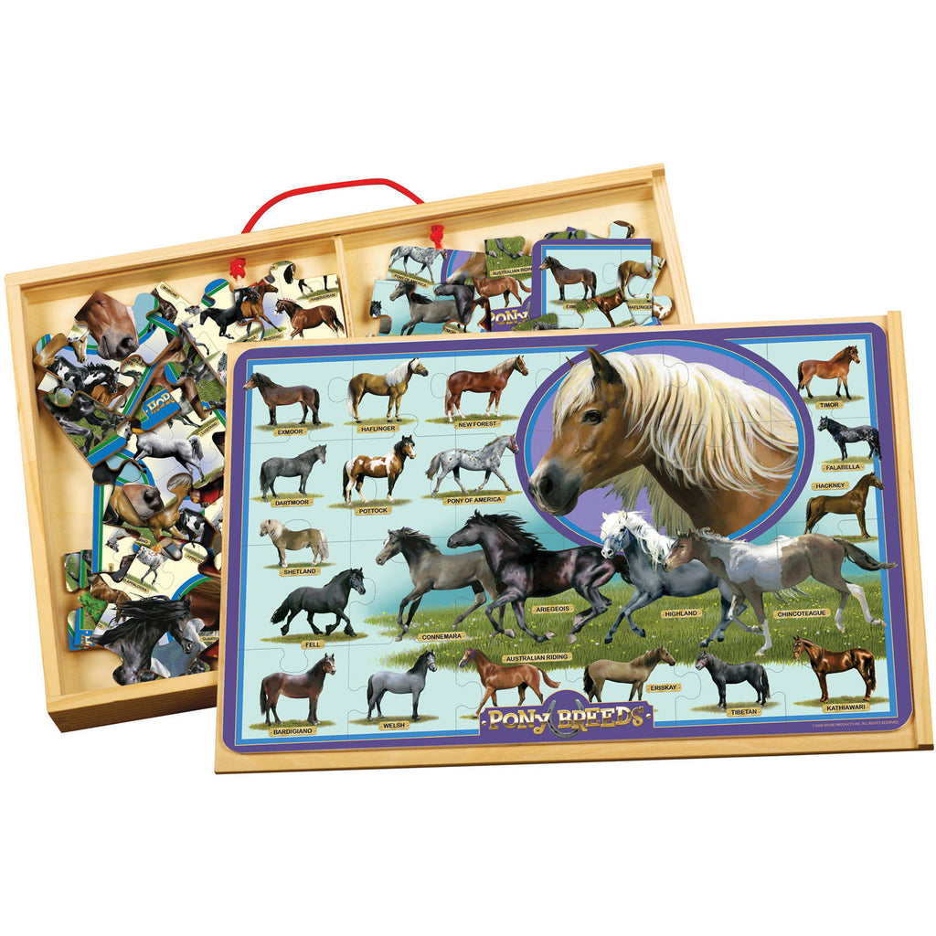 T.S. Shure Horses and Ponies PuzBox