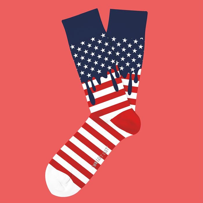 Dripping with Pride USA Socks