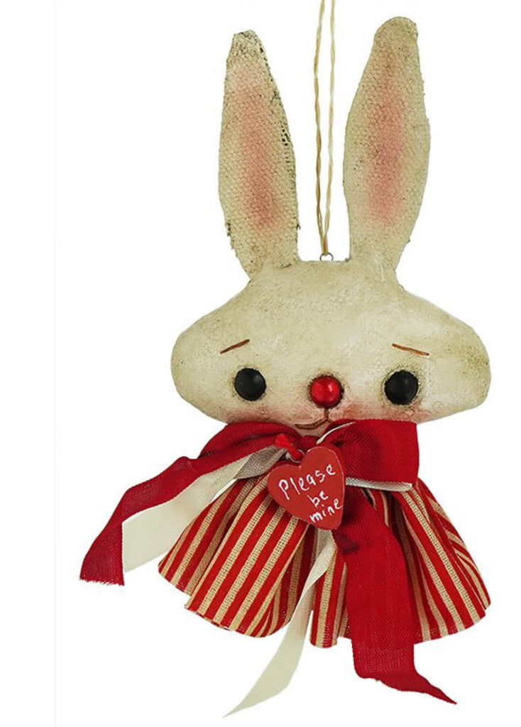 Be Mine Bunny Ornament