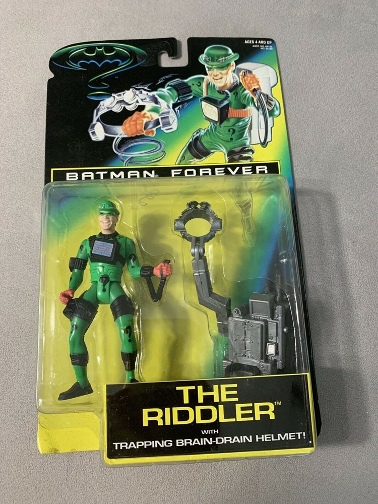 1995 The Riddler with Trapping Brain-Drain Helment
