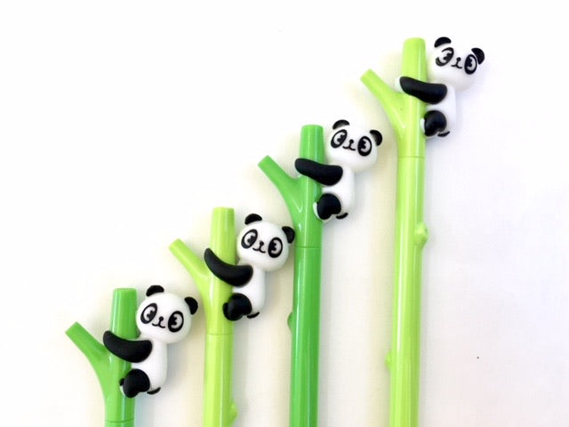 Panda on Bamboo Pen