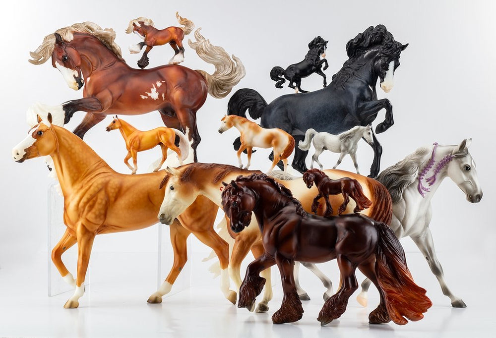 Breyer FULL BOX 70th Anniversary Stablemates Mystery Horse Surprise
