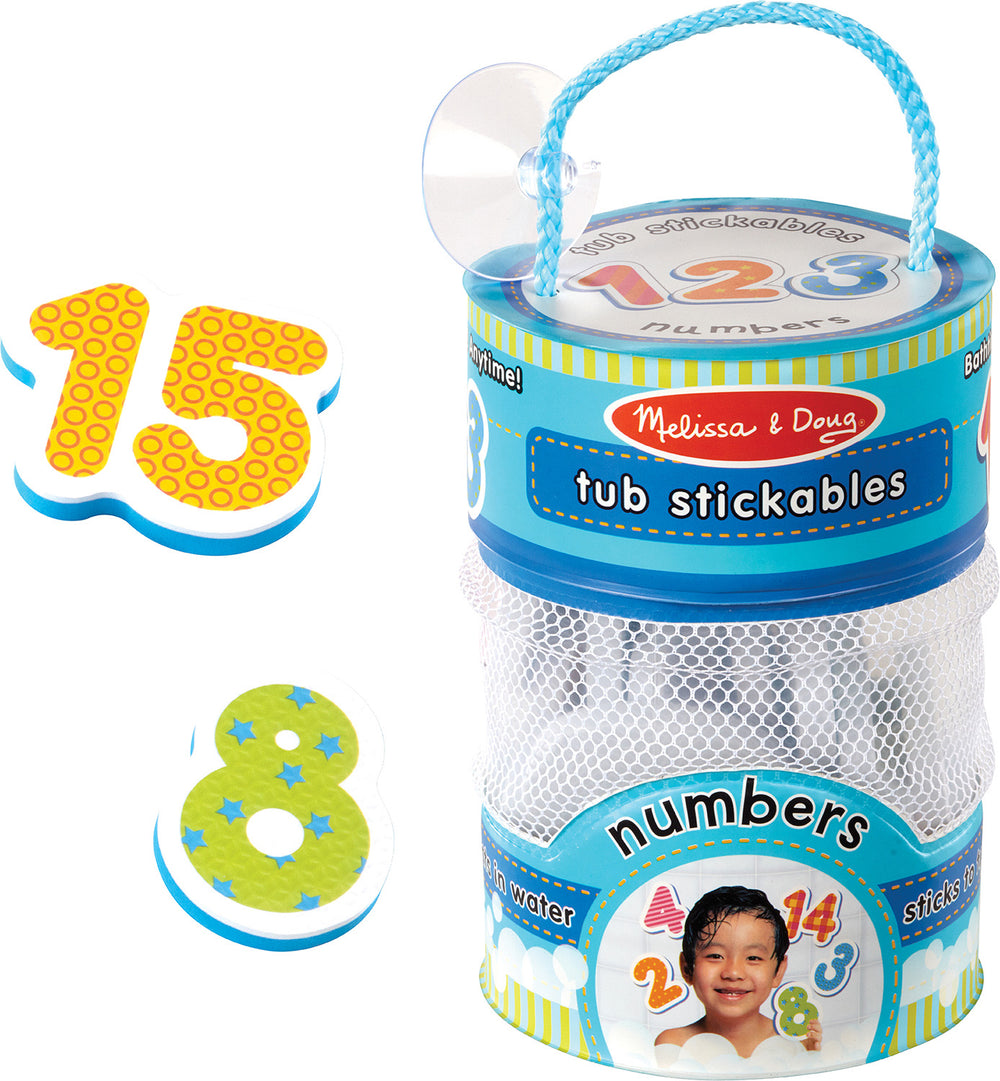 Number Tub Stickables