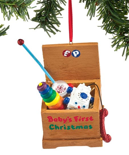Fisher Price Baby's First Christmas Ornament