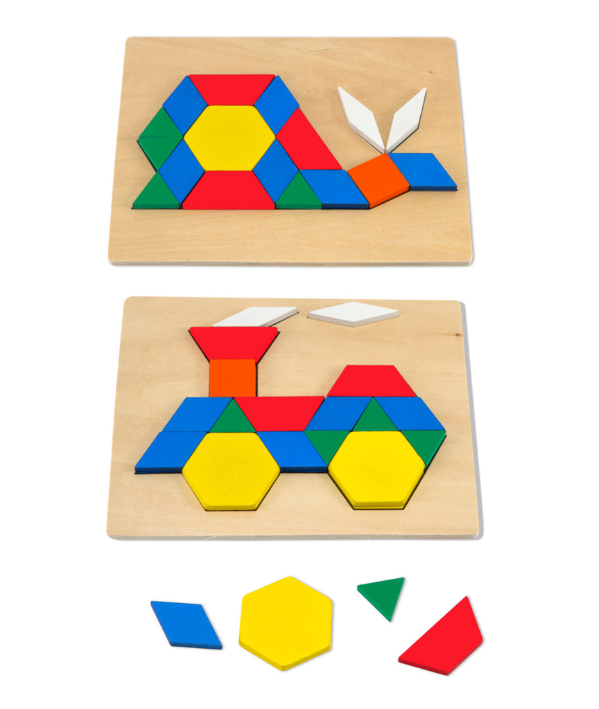 Pattern Blocks and Boards Classic Toy