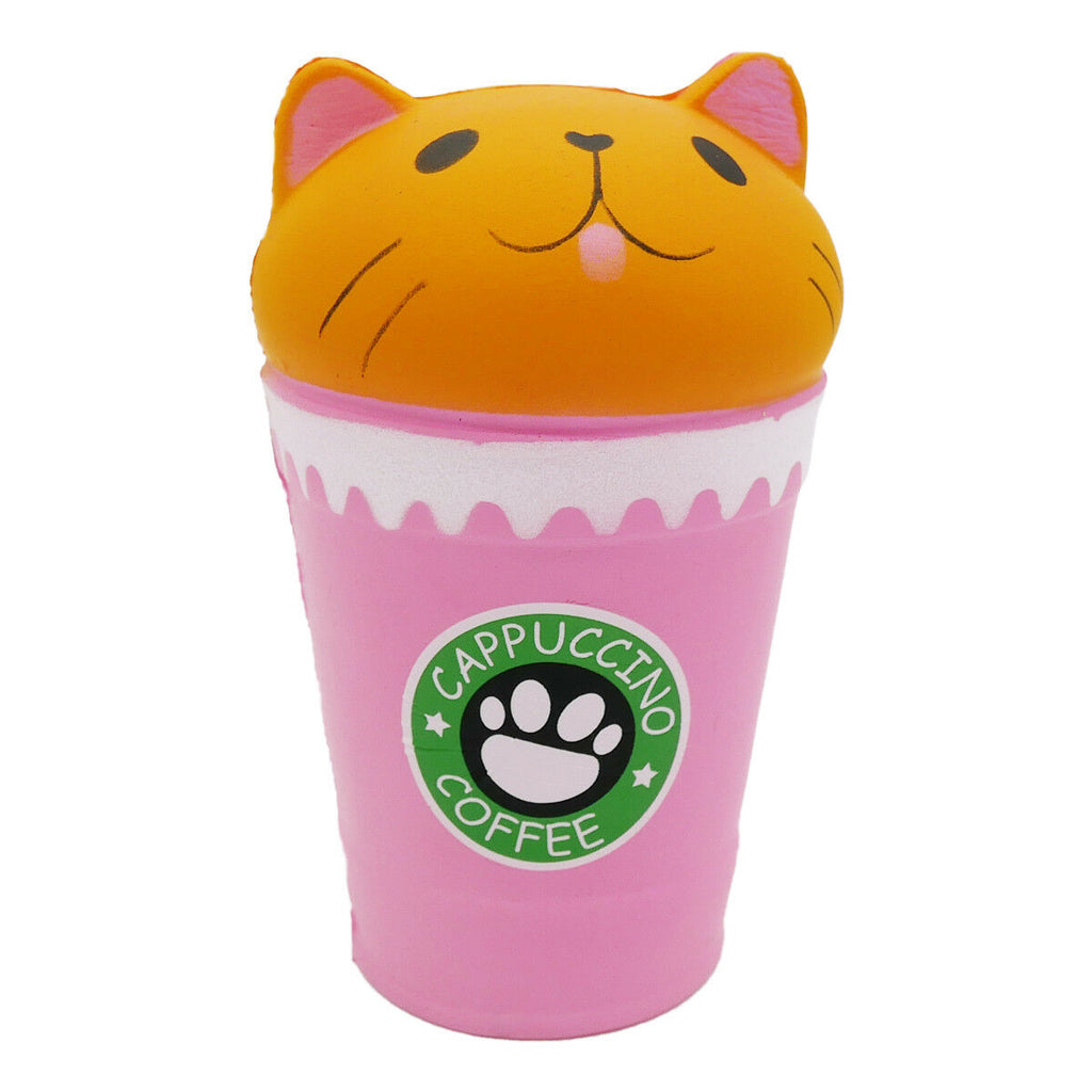 Catpucchino Coffee Squishy