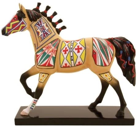 Cheyenne Painted Rawhide Painted Pony 12242