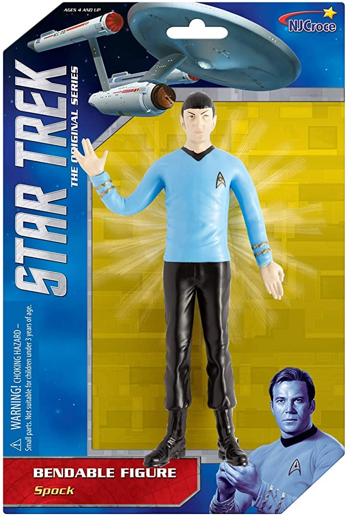 Spock Bendable figure