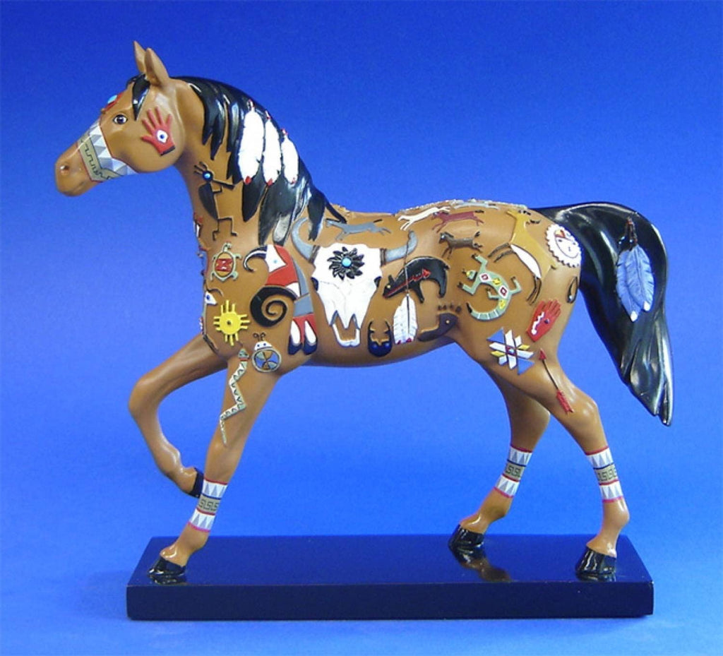 Wie-Tou Painted Pony 12252