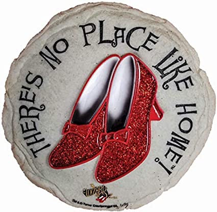 Garden Décor - Ruby Slippers Stepping Stone