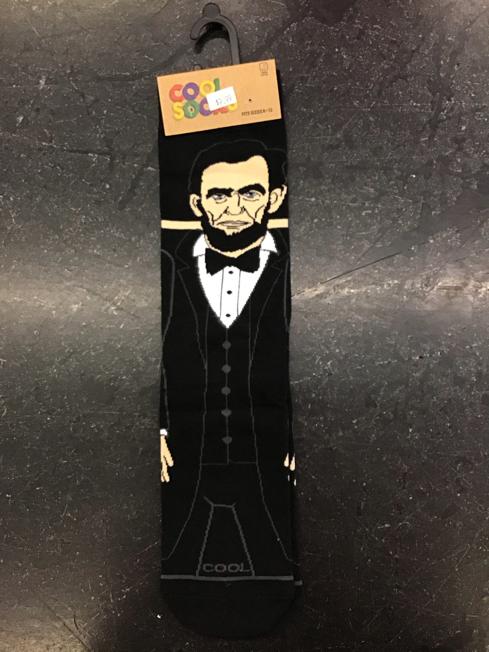 Abraham Lincoln Crew Socks