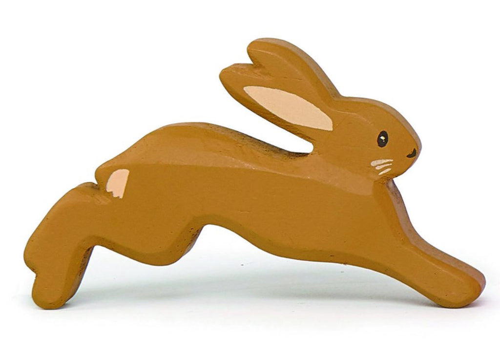 Wooden Brown Rabbit - TLRB