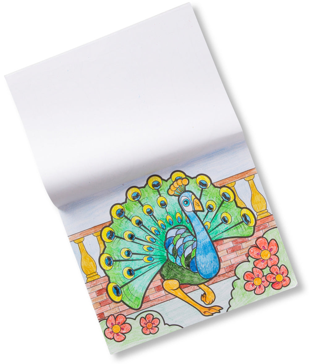 Jumbo Animal Coloring Pad