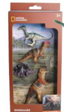 National Geographic Dinosaur 4 pc 1606