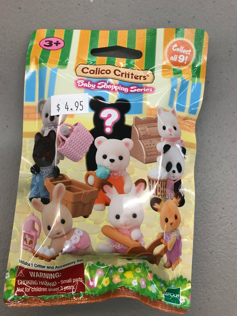 Calico critter shopping blind pack