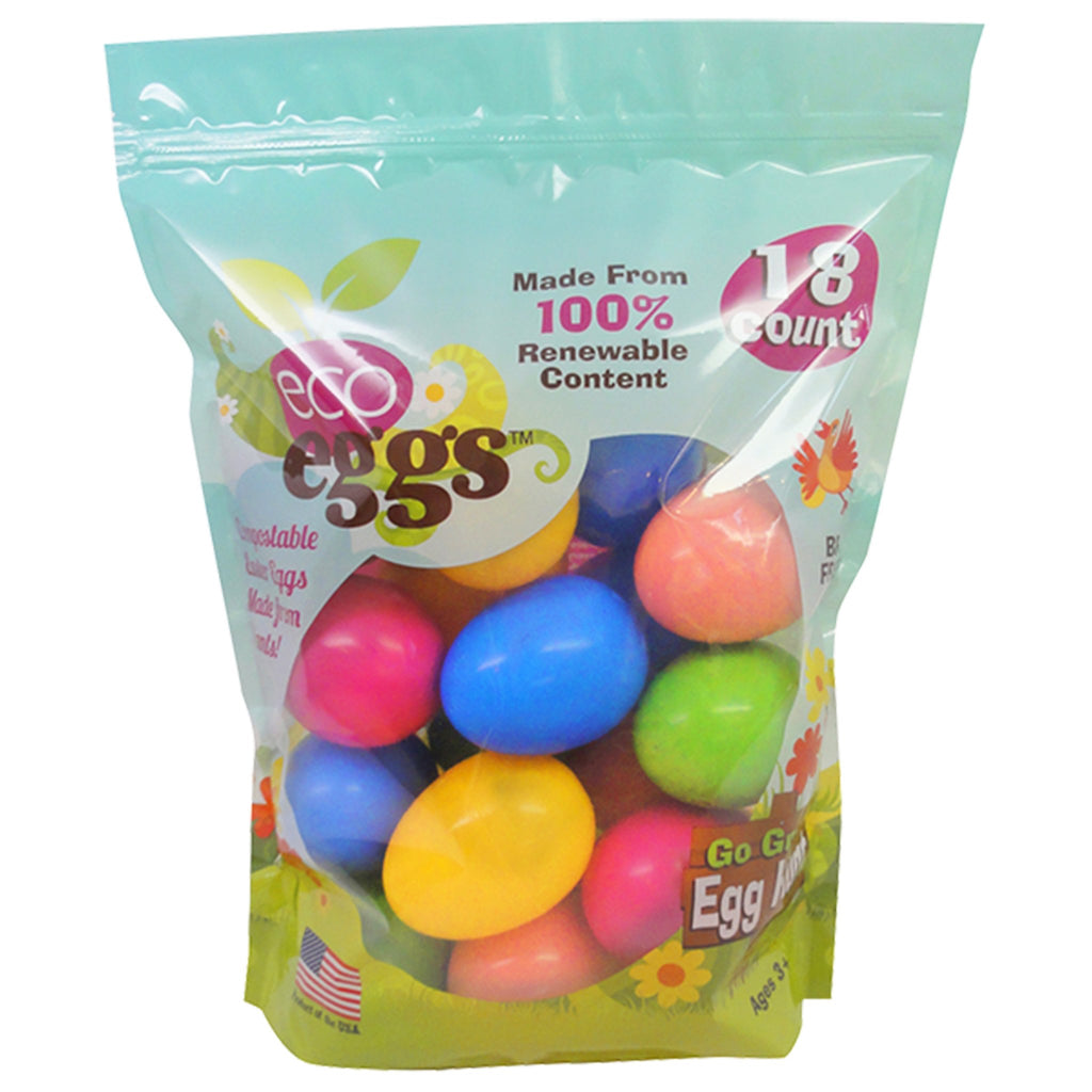Eco-eggs Large Easter Eggs 18 Count