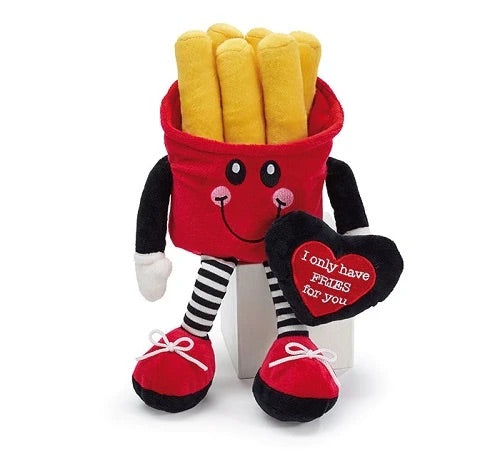 "Valentines ""I Only Have Fries For You"" Plush"