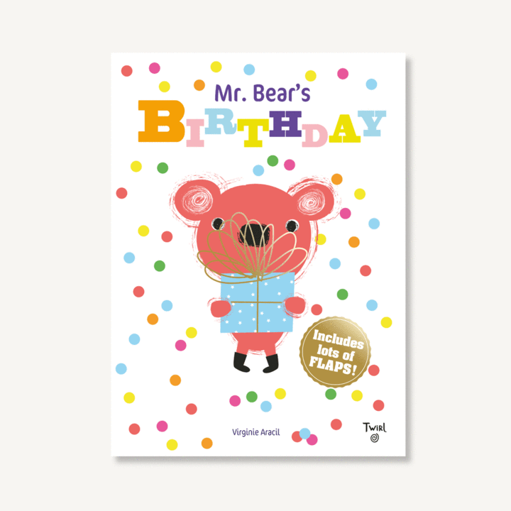 Mr. Bear's Birthday Flap Book