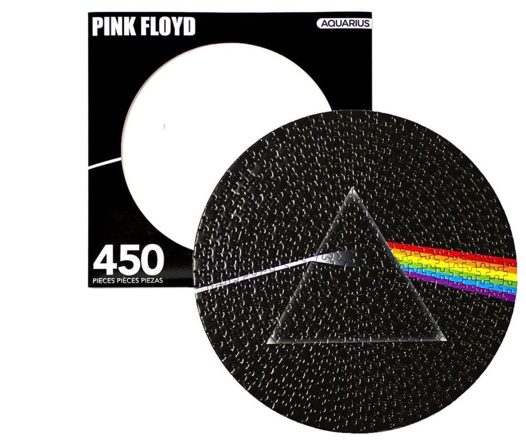 Pink Floyd Dark Side Of The Moon 450 Piece Picture Disc Jigsaw Puzzle