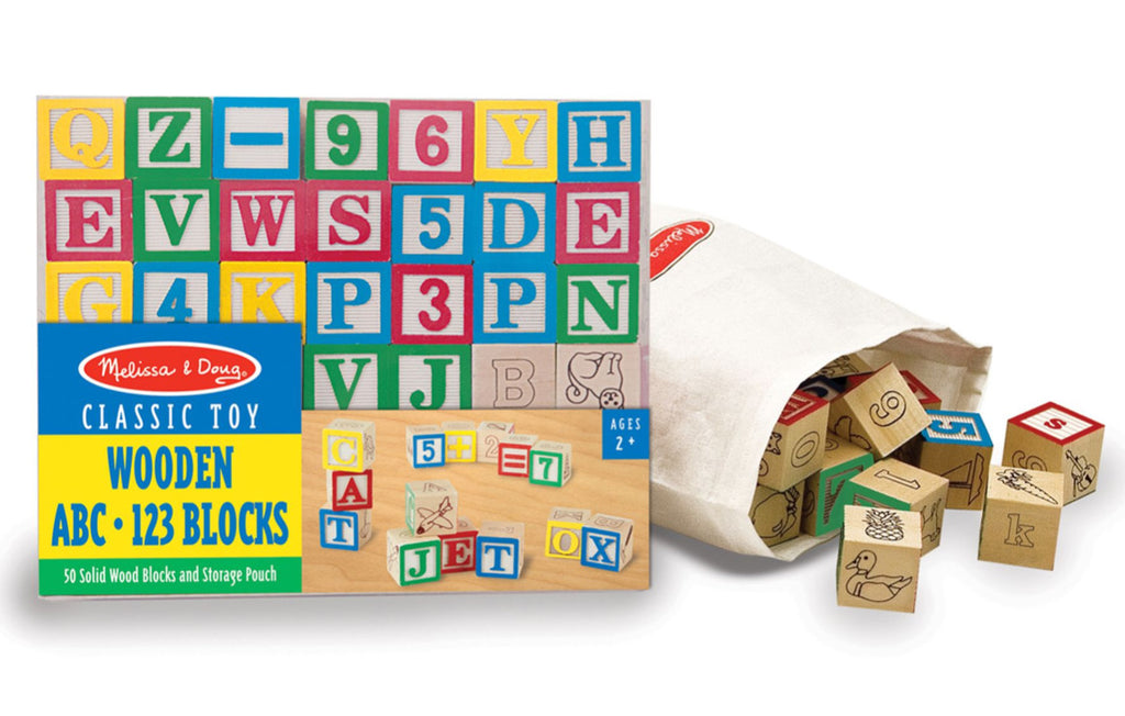 ABC and 123 Classic Blocks