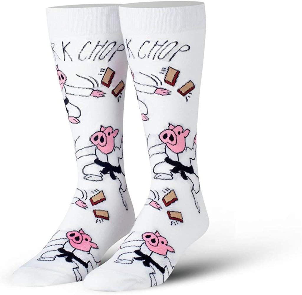 Cool Socks Pork Chop Crew Socks