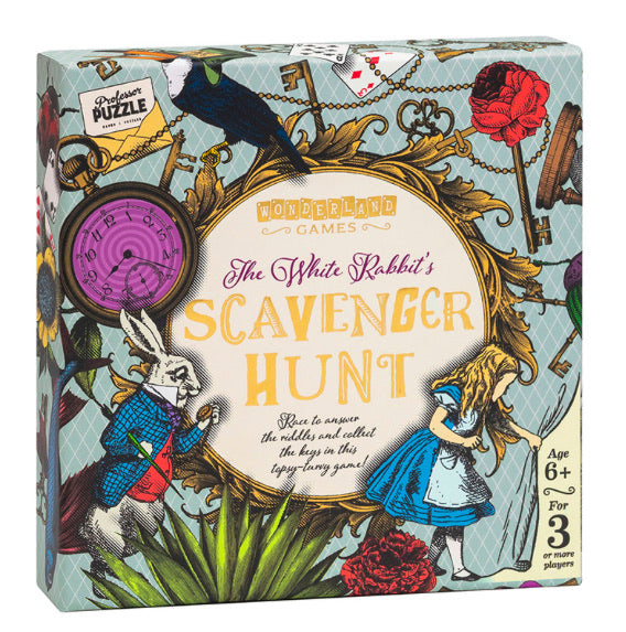 The White Rabbit's Scavenger Hunt Game