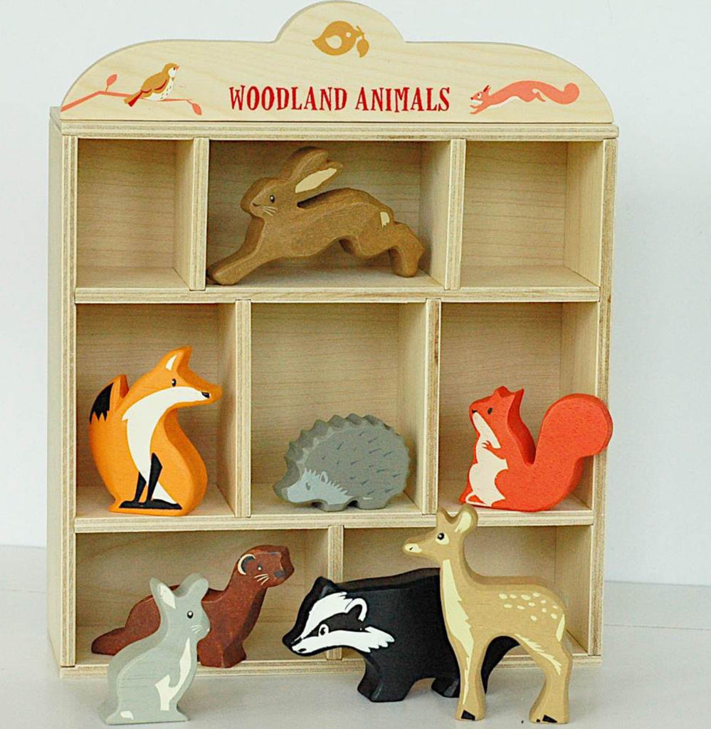 Tender Leaf Toys Gray Rabbit Woodland Animals