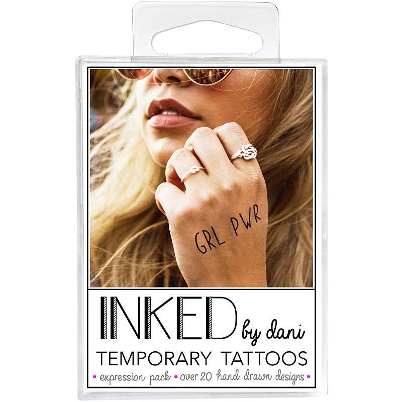 Expression Pack Temporary Tattoos - 166