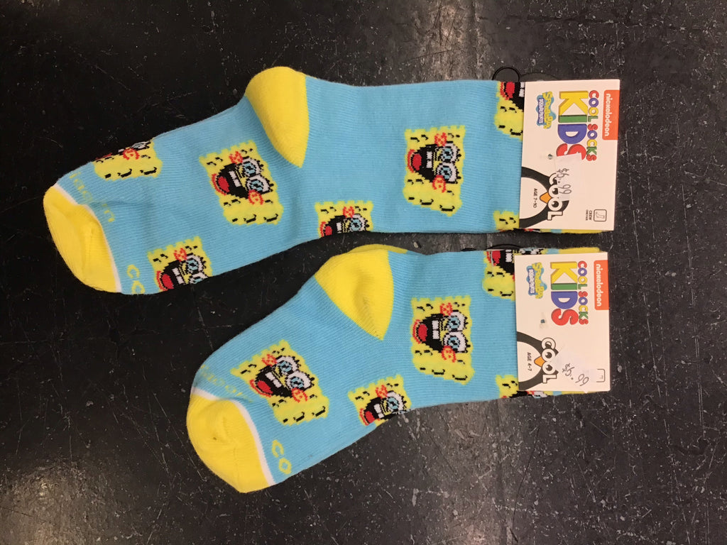 Spongebob Squarepants Kid's Socks