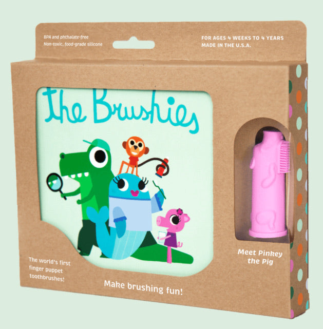 Pinkey the Pig + The Brushies Book