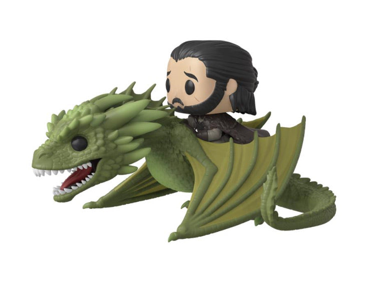 Game of Thrones Jon Snow & Rhaegal Funko POP rides