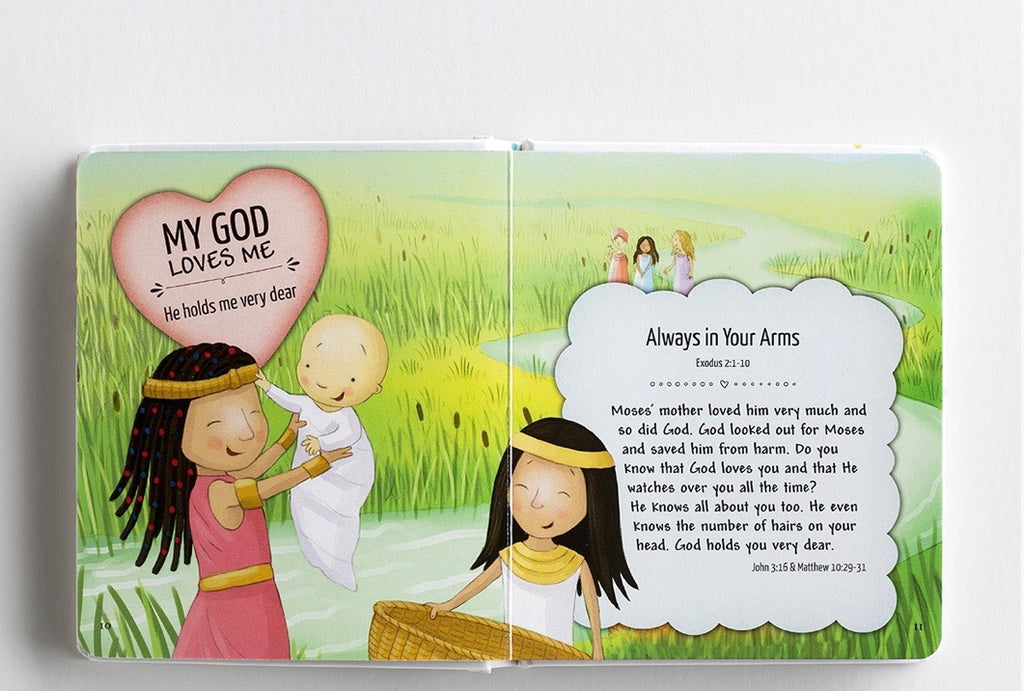 My God Loves Me Bible - Carry Me Book